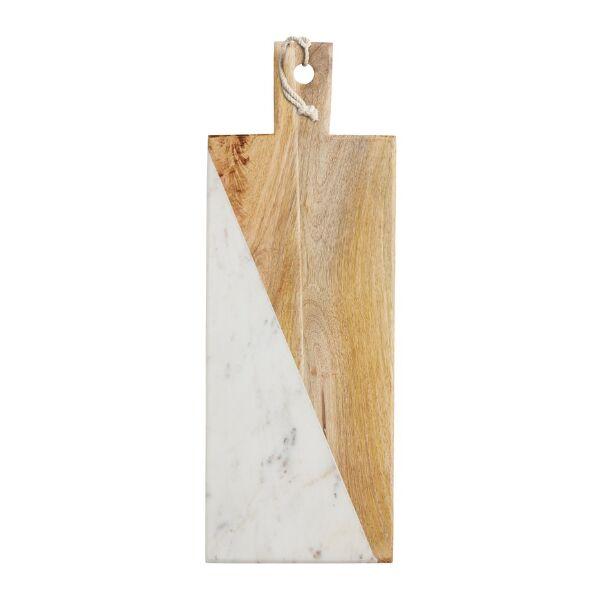 Tabla para cortar marmol y madera rectangular