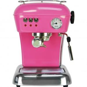 maquina de cafe ascaso fucsia