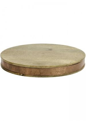tabla madera y cobre nordal