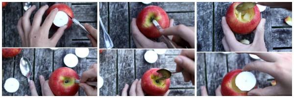 collage como hacer un portavelas