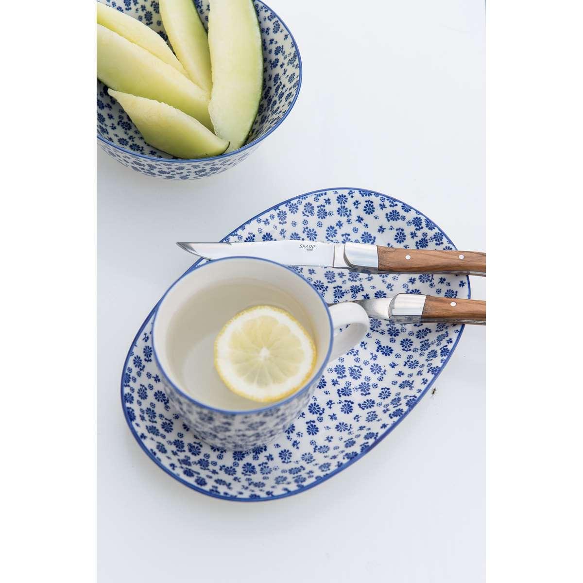 Cuchillo mango de madera