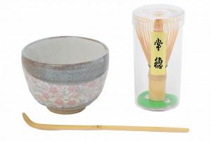 taza brocha bambu te matcha