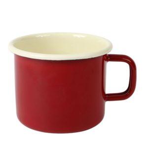 taza mug roja